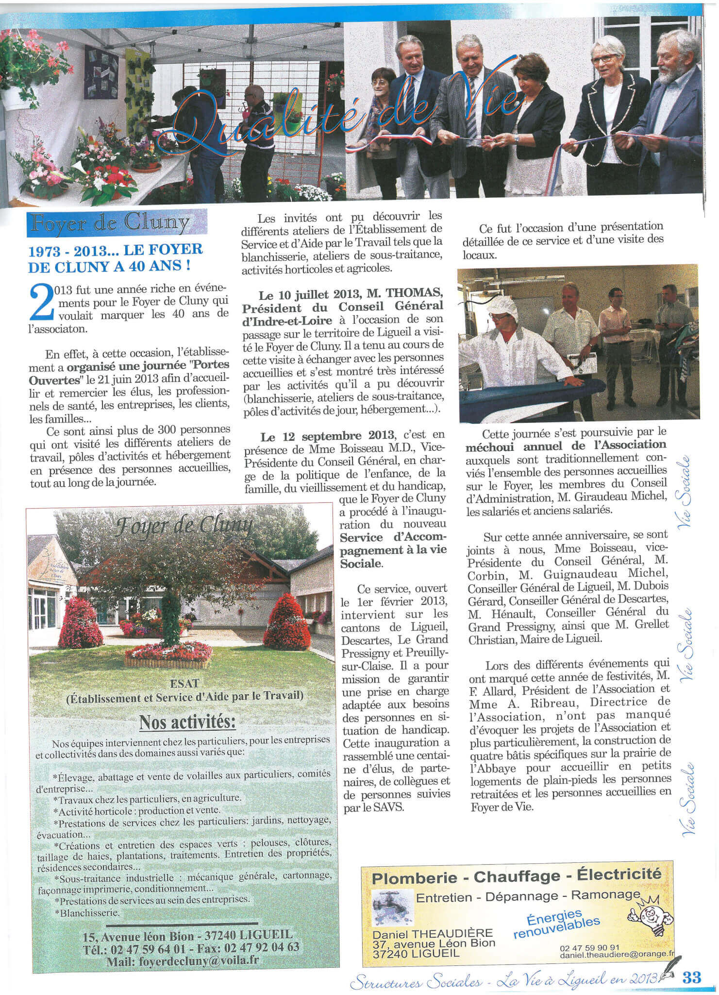 Article Vie Ligolienne 2014